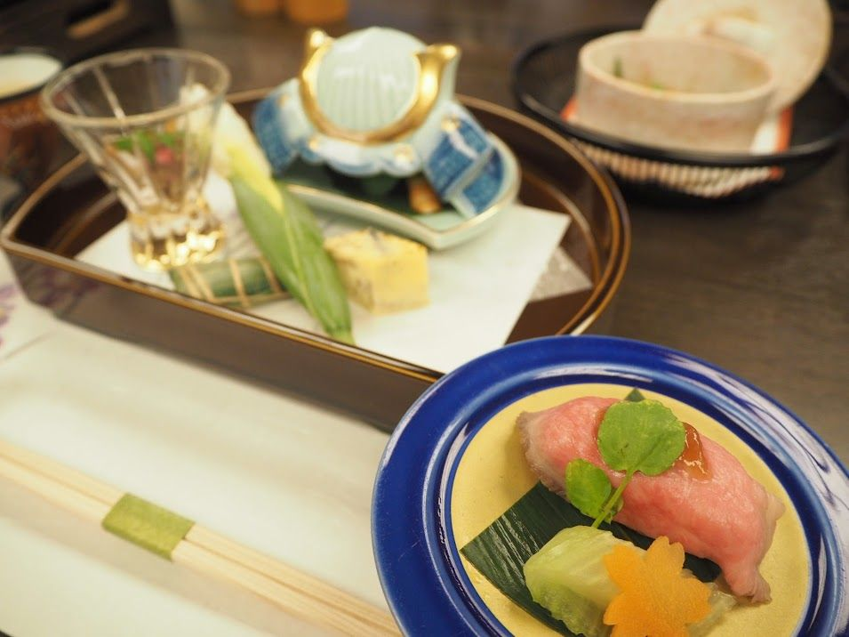 飛騨高山の豊富な食材を存分に楽しめる食事