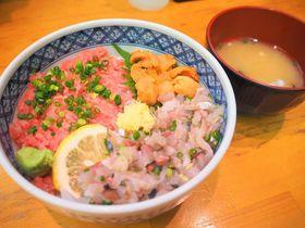 新鮮ネタでカスタマイズ海鮮丼「焼津さかなセンター」|静岡県|トラベルjp<たびねす>
