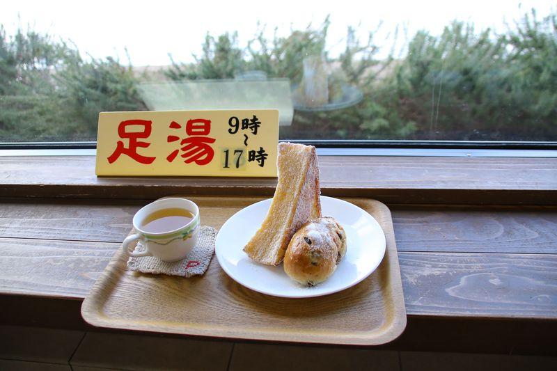 足湯が楽しめるパン屋!?鳥取県東郷池「ぱにーに」