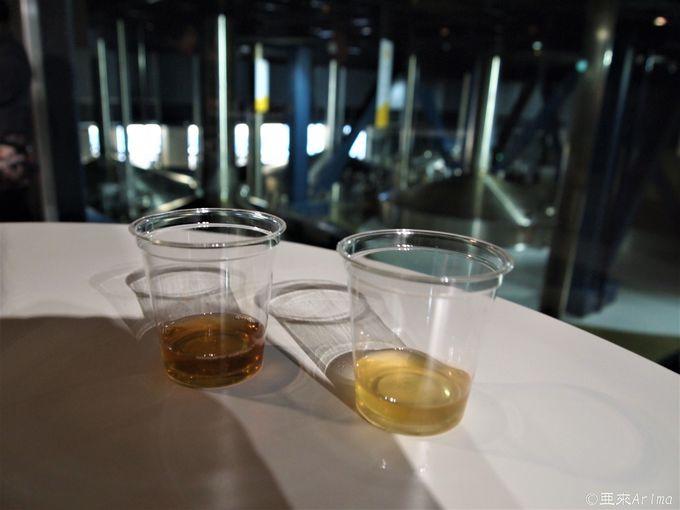 """工場見学 - 麦汁と発酵工程を""""体感"""""""