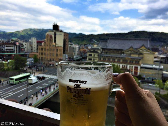 京の夏呑み、ビアガーデンはルーフトップがおススメ!
