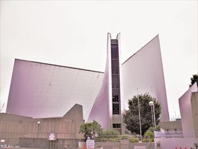 途轍もなく心高ぶる地上の十字架、目白「東京カテドラル関口教会 聖マリア大聖堂」|東京都|トラベルjp<たびねす>