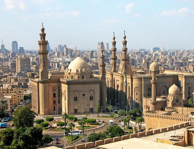 3.カイロ旧市街でDIOの館探し