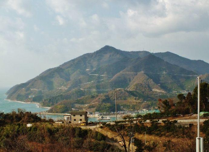 とびしま海道一の絶景の一等三角点峰