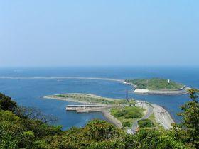 まるで糸!超細長い淡路の天橋立「成ヶ島」は花と砲台の島|兵庫県|トラベルjp<たびねす>