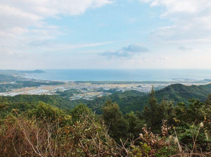 陸軍陣地と展望の八丁山