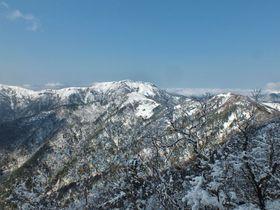 僅か1時間で高山の銀世界!春のお手軽雪山「高知・白髪山」