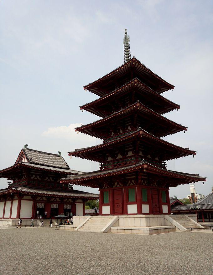 毎月21・22日は、聖徳太子建立の「四天王寺」で縁日を!