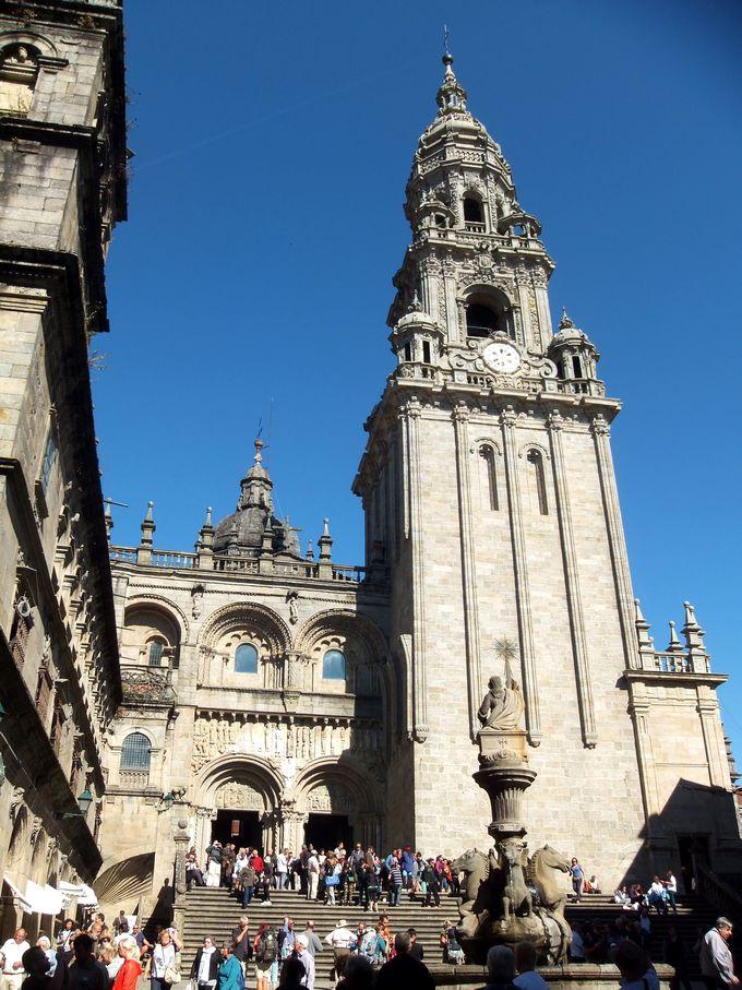 キリスト教3大聖地の一つ、「サンティアゴ・デ・コンポステーラ」!