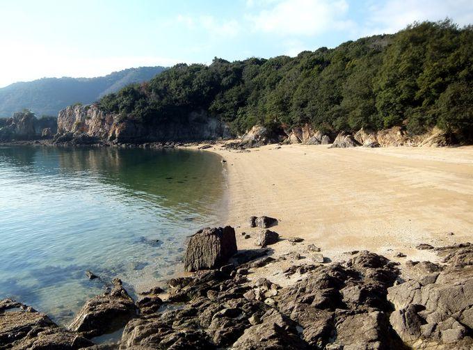 仙酔島にはなんと、あの浦島太郎の浜が実在!?