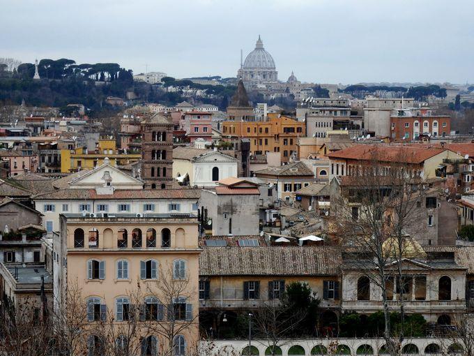 ローマを一望するなら、サヴェッロ公園(オレンジの公園)へ!