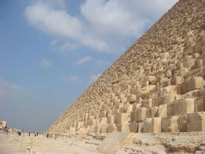 ピラミッドのすごさは行った者にしかわからない!
