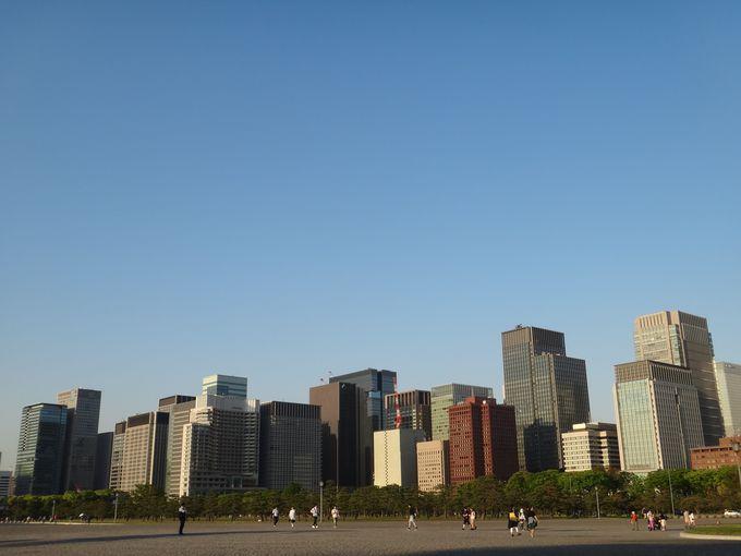 大都会の象徴的な景色