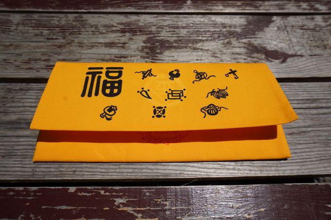 ご祈祷済みの縁起物を手に入れよう!大人気の福財布は黄金色