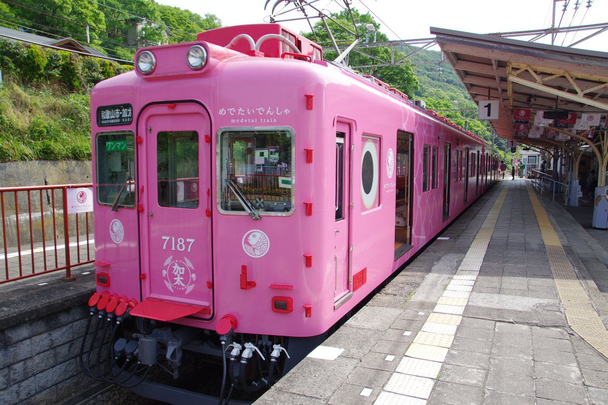 こりゃめでたい!「めでたいでんしゃ」でゆく和歌山市・加太めぐり