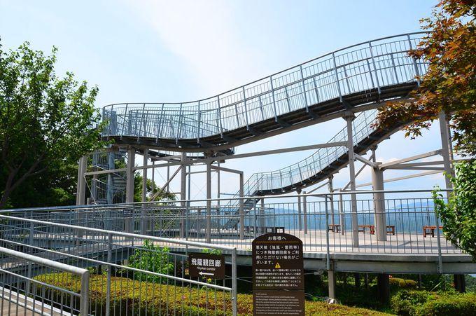 かつては京都府唯一のジェツトコースターだった展望台