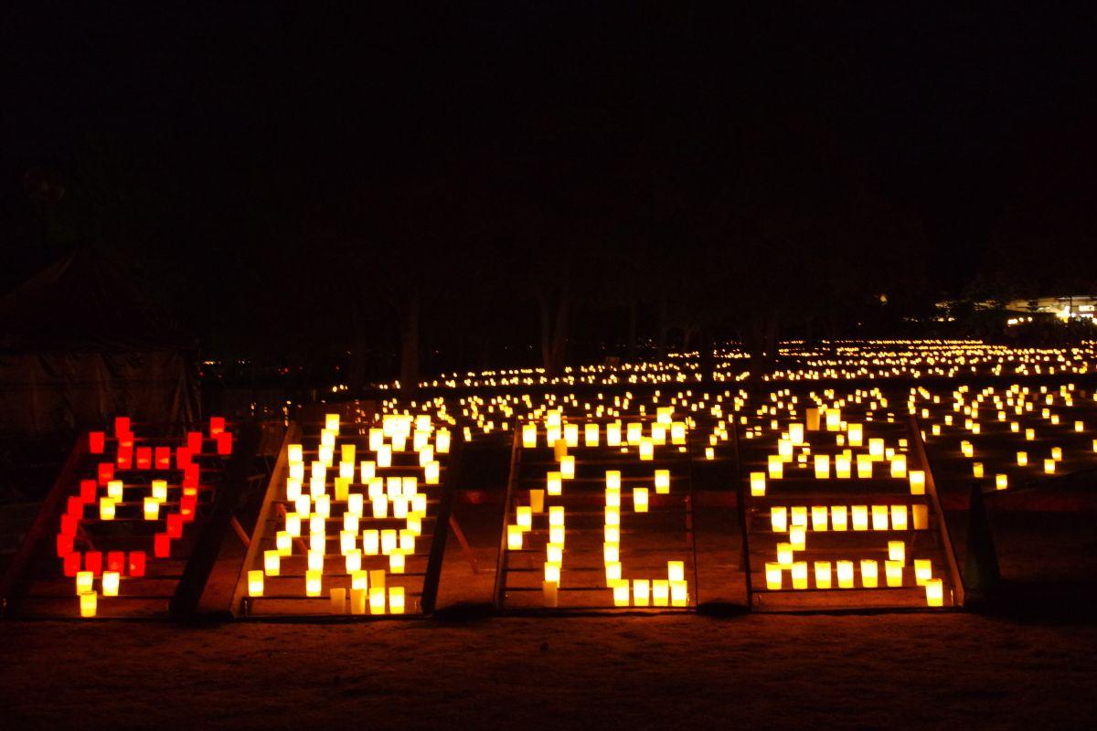 9.なら燈花会/奈良県