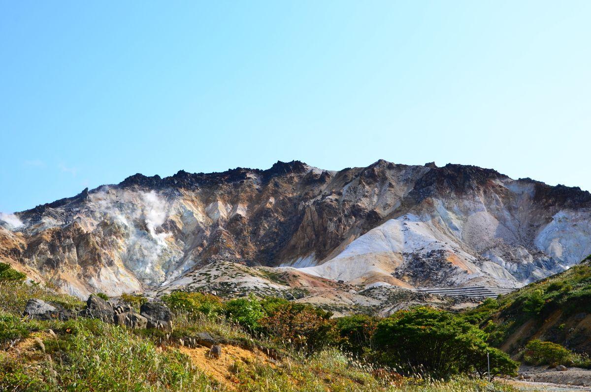 異次元世界の「恵山火口原」