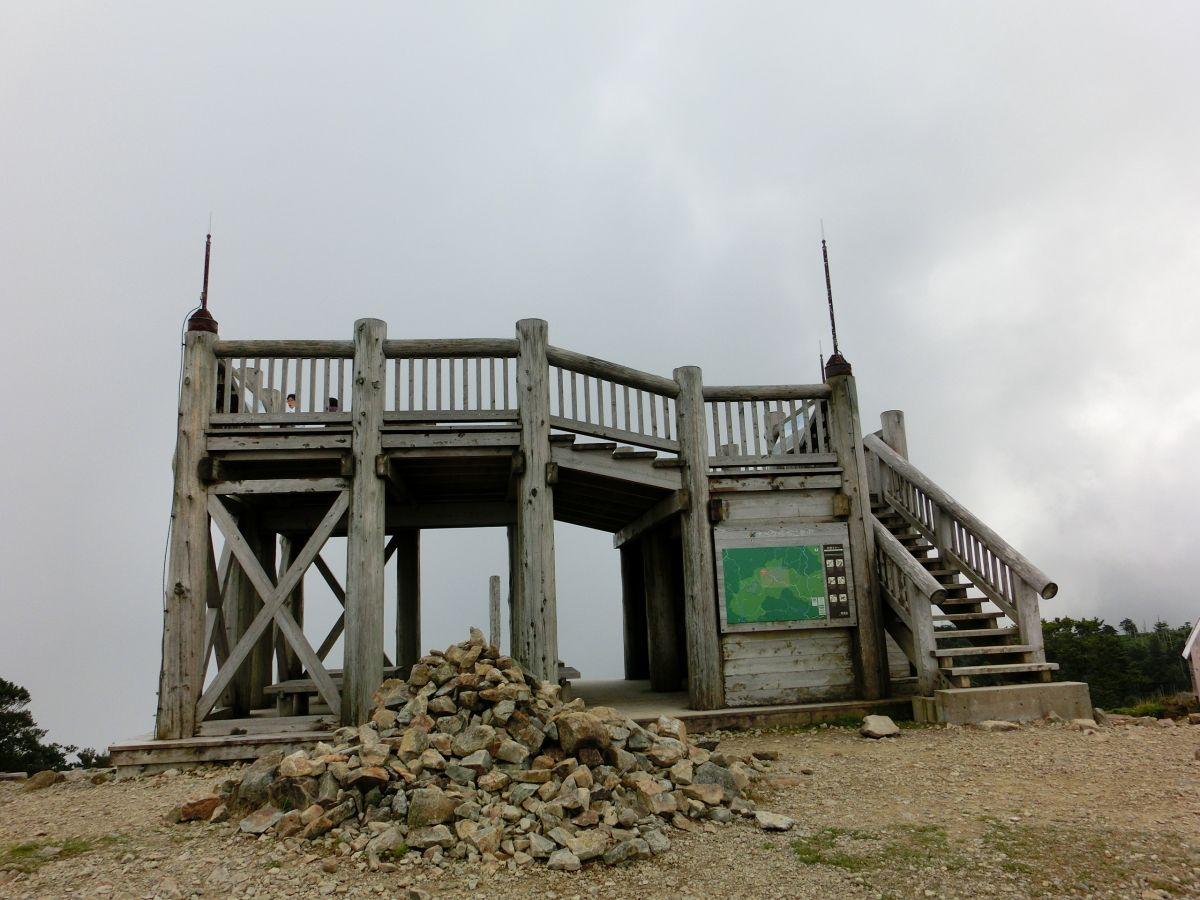 大台ケ原の最高峰「日出ケ岳」