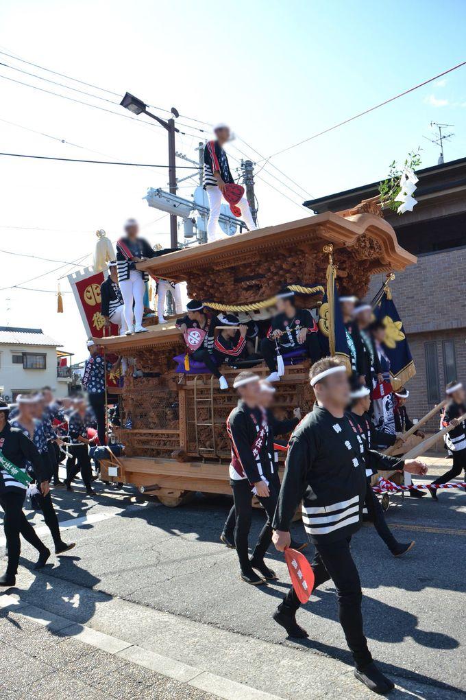 岸和田だんじり祭をゆっくり見るなら「疎開道」