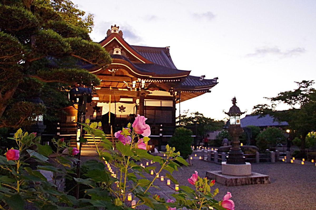 聖徳太子誕生の地「橘寺」