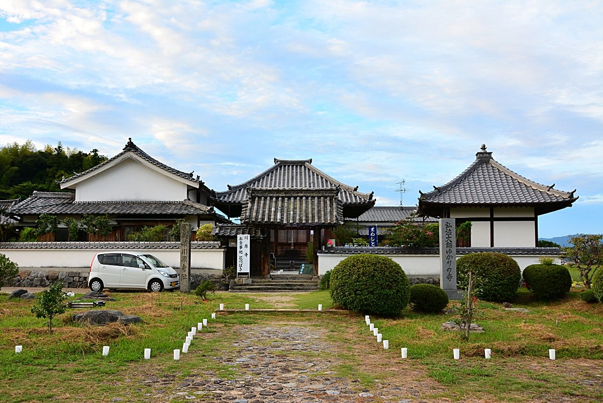 飛鳥三大寺のひとつだった「川原寺」跡