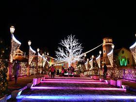 和歌山マリーナシティ「フェスタ・ルーチェ」でクリスマスイルミを満喫!