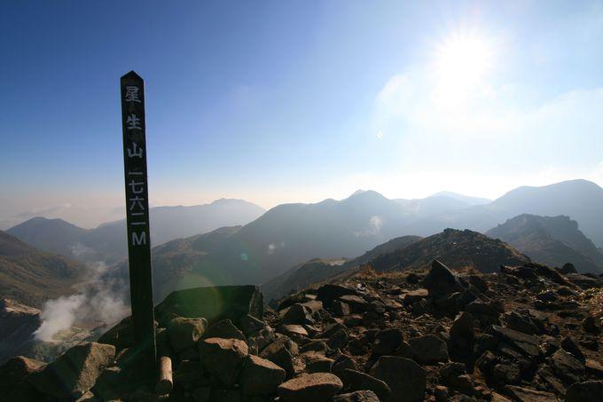 複数の山頂・選べる山頂