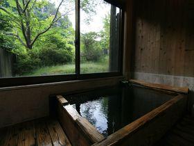人里離れた秘境温泉!大分県玖珠町「七福温泉 宇戸の庄」の泡付きモール泉|大分県|トラベルjp<たびねす>