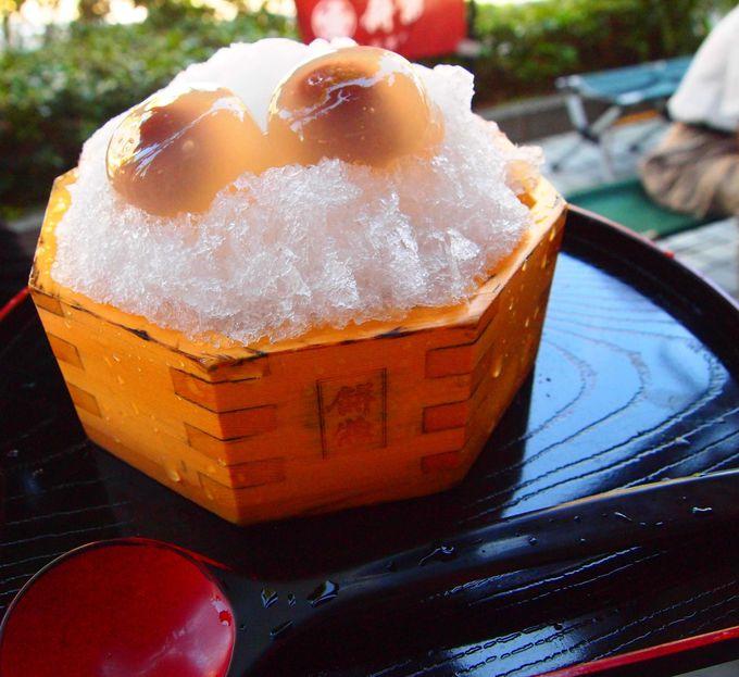 甘すぎない上品な甘さが魅力の「水まん氷」