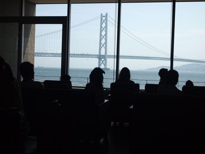 【スターバックス西舞子店】明石海峡大橋の眺めはここの店がNo.1!!
