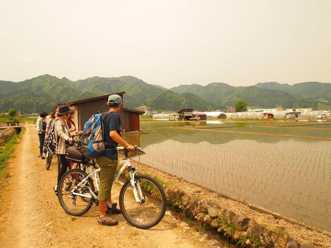 あまり旅行者が足を運ばない集落までサイクリング!