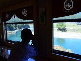 絶景が続く長良川鉄道・新観光列車「ながら」! 必見ビュースポットはココ|岐阜県|トラベルjp<たびねす>
