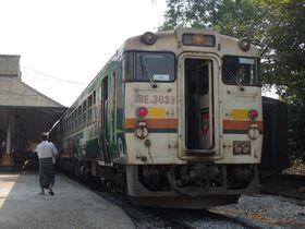今乗っておくべき!懐かしい、JR・国鉄の気動車が走る、ミャンマー国鉄・ヤンゴン環状線