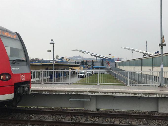 フランクフルトから2時間。電車でアクセス可能なジンスハイム交通博物館
