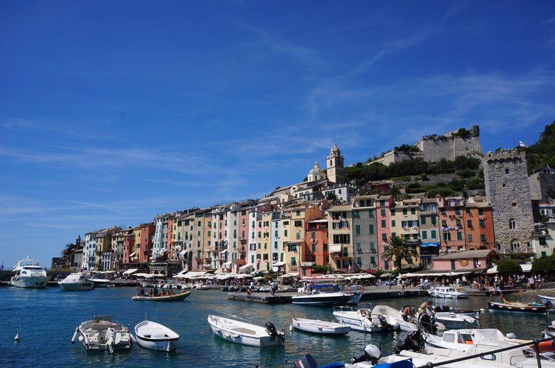 イタリアの世界遺産を海から楽しむ!遊覧船で周るチンクエテッレ
