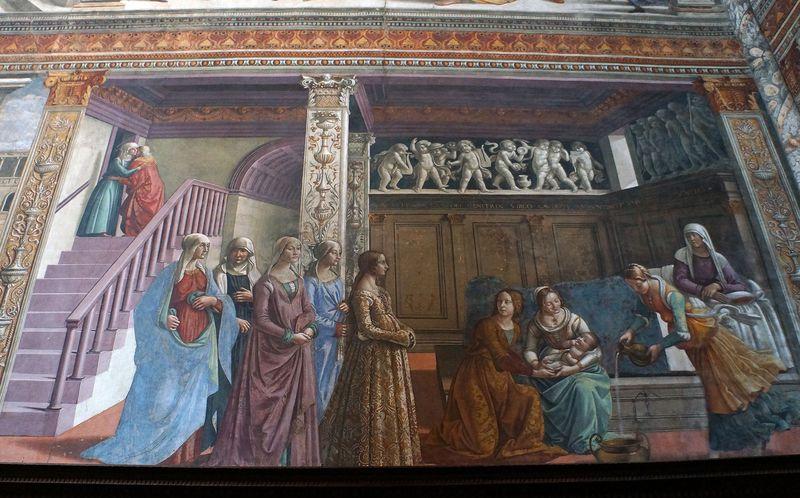 聖書のシーンをルネサンス期の服装で