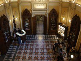 現存する世界最古の薬局フィレンツェ「サンタマリアノヴェッラ薬局」