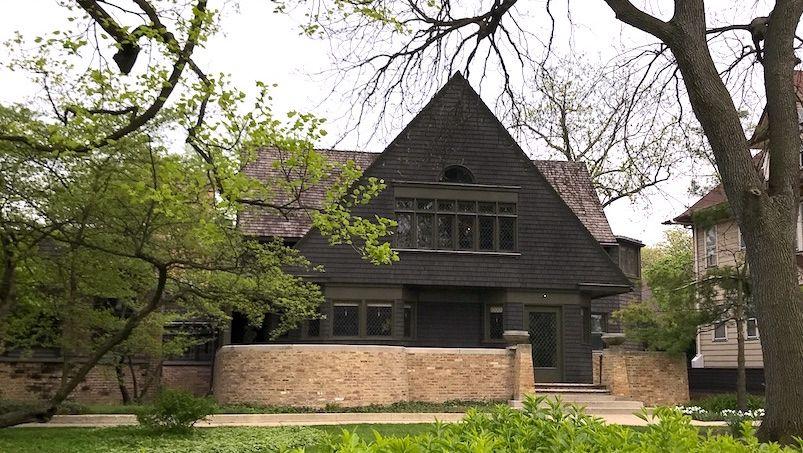 建築家フランク・ロイド・ライトのお宅訪問