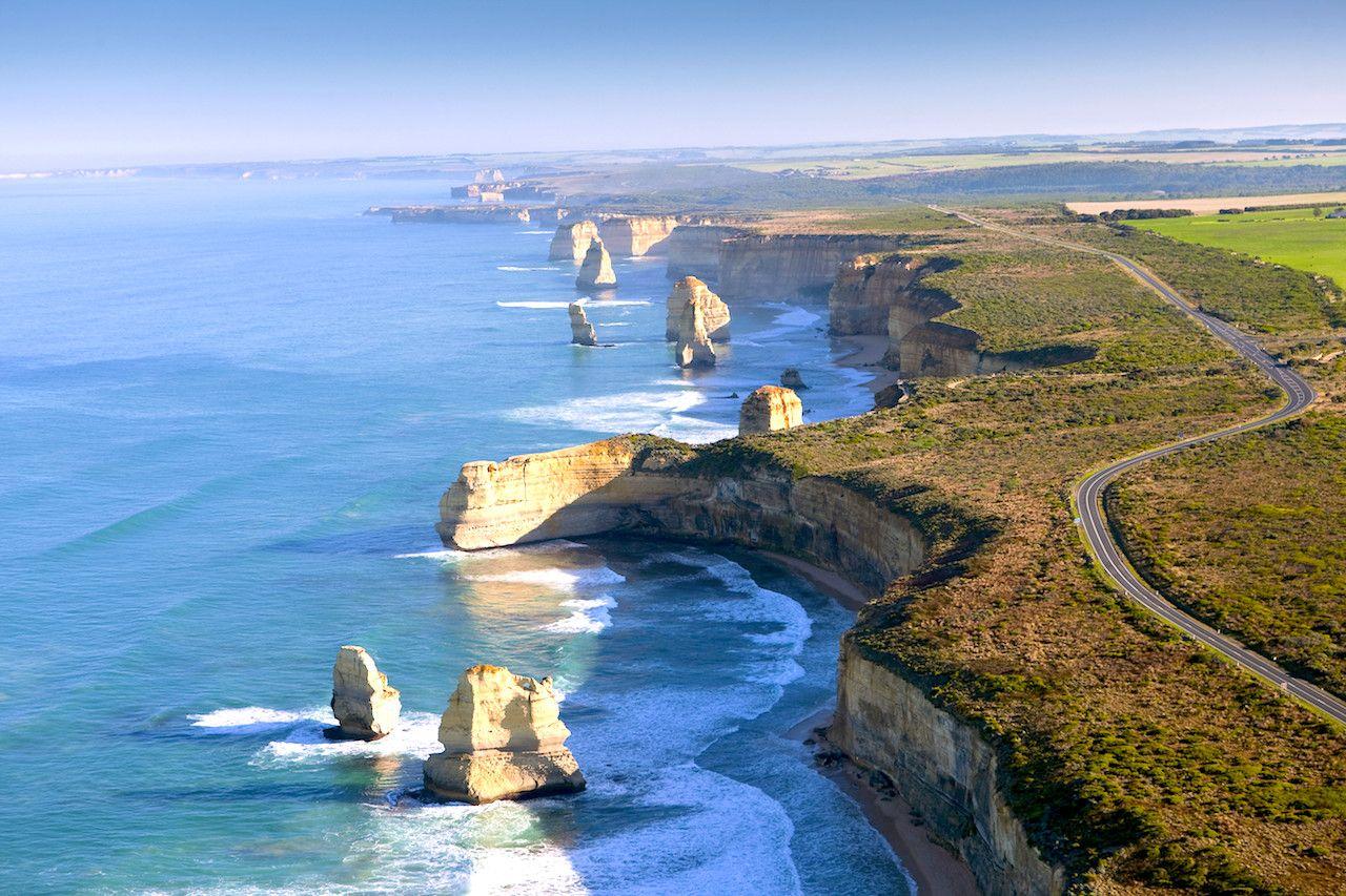 これぞオーストラリア!の壮大な風景が楽しめる「12使徒」
