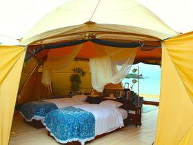 準備不要!沖縄かりゆしビーチリゾート・オーシャンスパで楽しむ、シーサイドグランピング