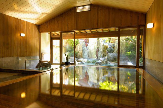 豊富な湯量をふんだんに楽しめる「星野リゾート 界 伊東」