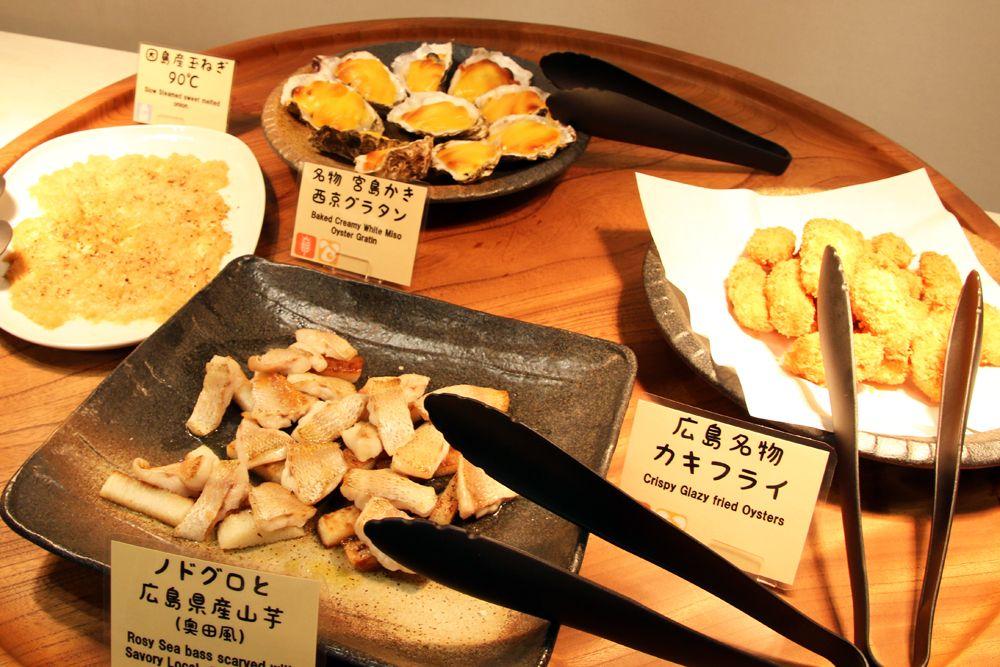 広島の食材&世界的シェフがプロデュースした美味しい食事を