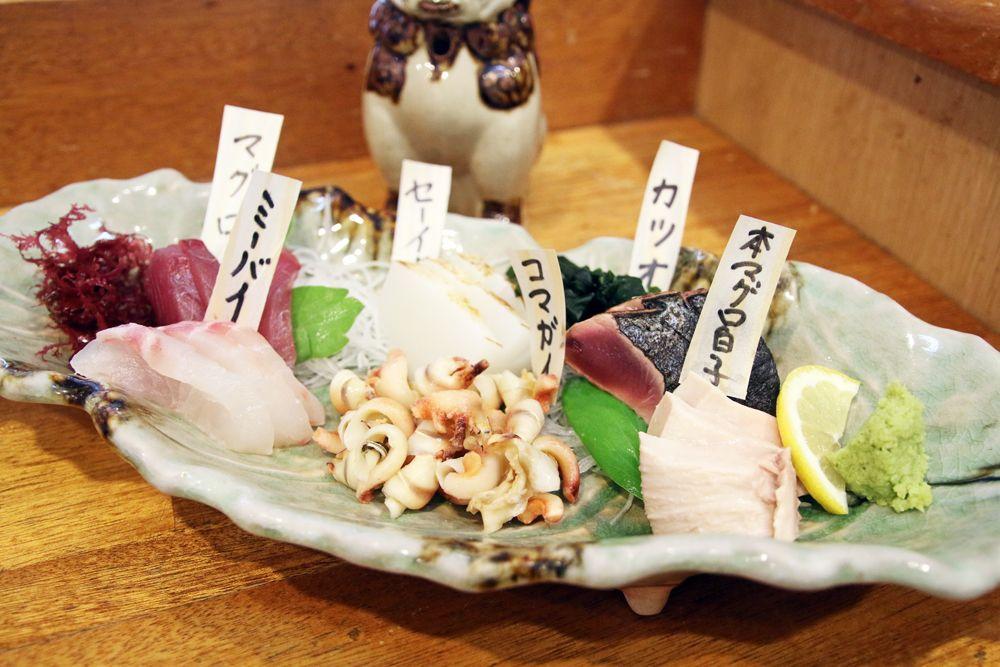 石垣島の居酒屋「まるさ」で魚×泡盛を!さしみ店直営の人気店