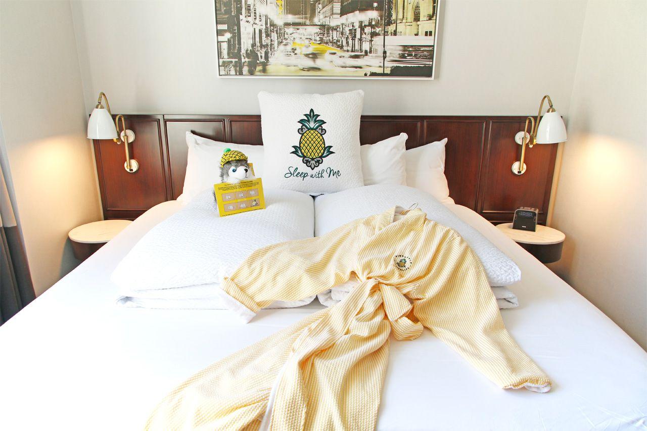ステイパイナップルはシカゴ観光に便利!立地抜群の可愛いホテル