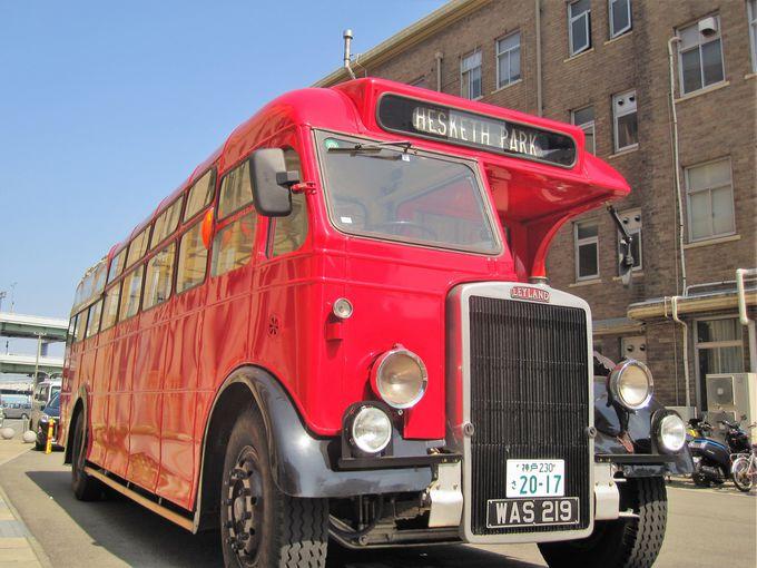 同じ時代のリバプールを生きたボンネットバス