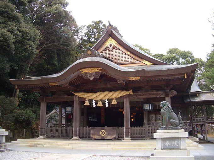 坂本龍馬にもゆかりが?宇和島「和霊神社」