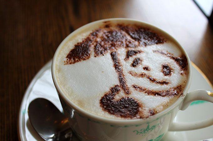 味も本格派!パンダな喫茶メニュー