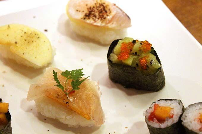 フルーツ寿司のお味は?