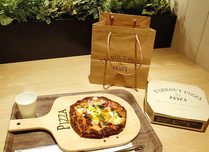 サクサクの自家製パイ生地が絶品のピザ